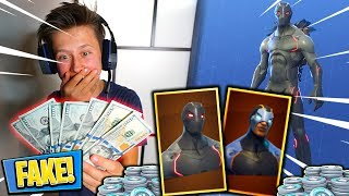 Little Brother utilise FAKE MONEY pour acheter VBUCKS in Fortnite🤑💰 (Free Vbucks) David Vlas (en)