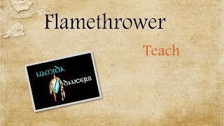 Flamethrower Line Dance Teach