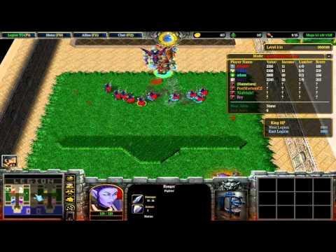 Warcraft III: TFT - (CUSTOM) 218 - Legion TD Mega 3 5 x10 v3 9f