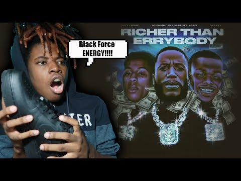 Gucci Mane – Richer Than Errybody REACTION (ft. NBA YoungBoy  & DaBaby)