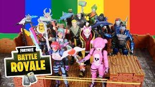 FORTNITE Battle Royale Wrestling Match | Fortnite Toys - Jazwares