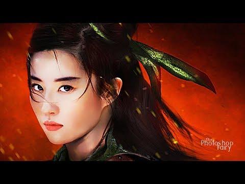 Disney's Mulan 2019  Crystal Liu Yifei as Mulan  Concept Design Un