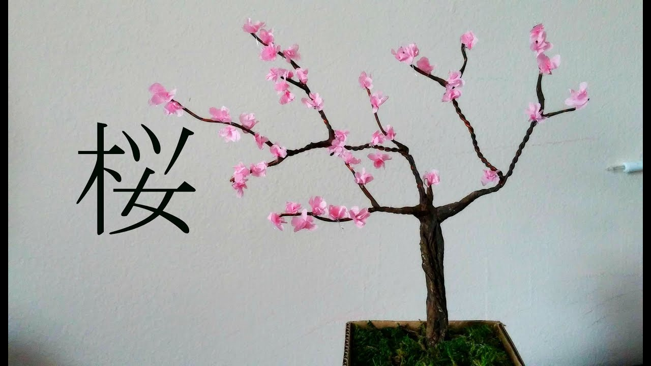 Diy Cherry Blossom Tree Room Decor