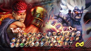 Super Street Fighter IV: Arcade Edition All Characters [PS3]
