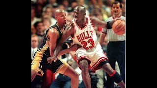 The Last Dance - ECF 98   Chicago Bulls vs. Indiana Pacers   Michael Jordan vs. Reggie Miller