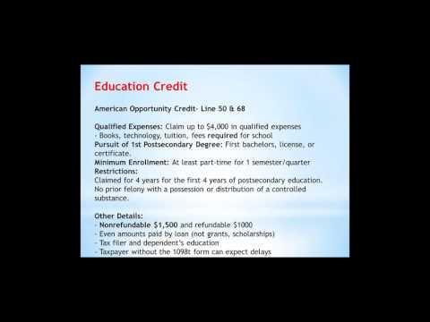 Federal Tax Law Training Part 5
