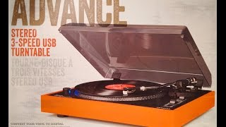 Crosley Advance CR6009A Turntable Review