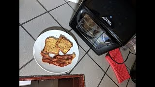 Lemon Cream French Toast and Bacon Recipe, Power Air Fryer Oven