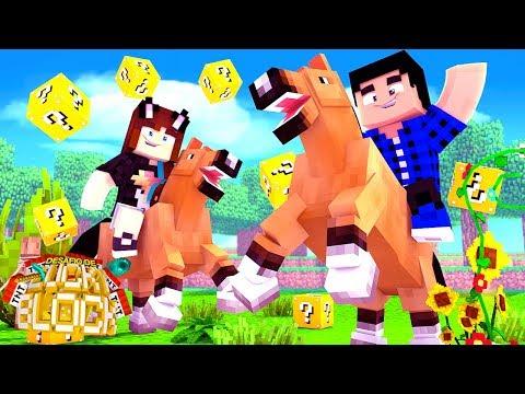 O DESAFIO DE LUCKY BLOCK COMPLETÃO! - Minecraft Desafio de Lucky Block