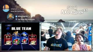 Gambar cover SoCal PM Arcadian #3 - Full Stream: Part 1 of 3 - Project M