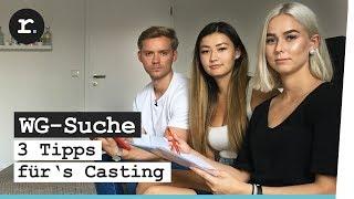 WG-Casting – So holt ihr euch das Zimmer