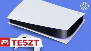 Megérkezett a jövő! - PlayStation 5 teszt