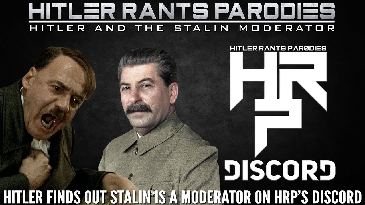 Hitler finds out Stalin is a moderator on HRP's Discord