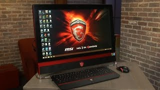 MSI AG270 is a rare all-in-one desktop PC built for gaming