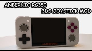 RG350 - How to Mod with Nintendo 3DS Analog Stick - One of the Best Emulation Handheld in 2020