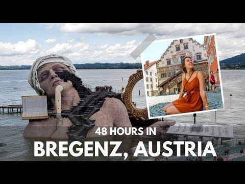 48 HOURS of travel around BREGENZ, AUSTRIA