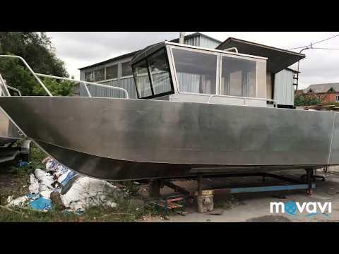 Как построить лодку в гараже, своими руками часть 3. Самодельная лодка