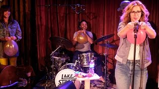 lake street dive plays name that tune with balloons