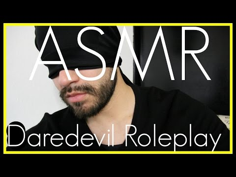 3D ASMR - Daredevil Roleplay (Close Up Male Whisper, Ear to Ear, & Ear Scratching)