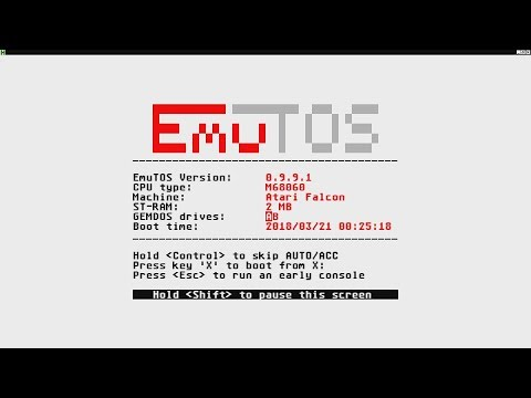 EmuTOS - Le Bottin des Jeux Linux