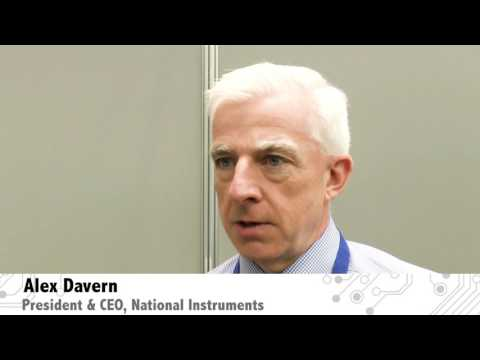 National Instruments the future . .  an interview with Alex Davern