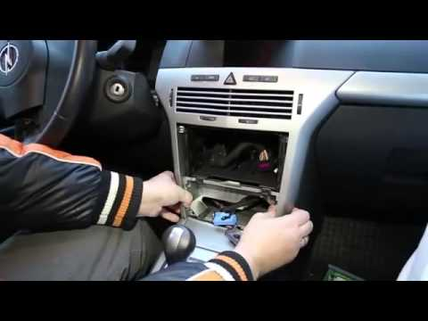 2005 Caravan Wiring Diagram Opel Astra H Youtube