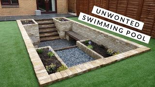 Tidybricks.co.uk Time lapse Swimming pool conversion which won regional winner with marshalls