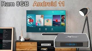 Trên tay Android TV Box X96 X6 sử dụng Ram 8GB và Android 11 đầu tiên tại Việt Nam