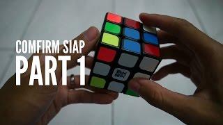 rubik cube noobies tutorial versi ke 2 part 1 cross tambah putih