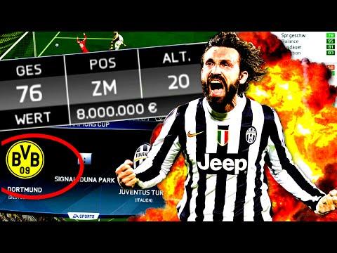 FIFA 16 : OMG PIRLO REGEN - KRASSE SPANNUNG gegen BVB - KARRIERE mit JUVENTUS TURIN #41