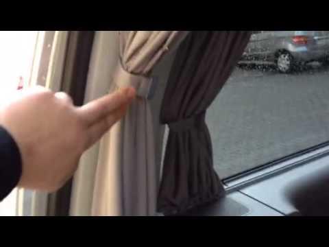 Vw Gardinen vorhänge caddy Maxi von baimex.de   YouTube