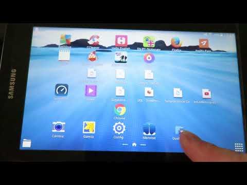 Tablet Samsung Galaxy Tab Fazendo Expansão da Memória Colocar Aplicativos e fotos no Cartão Externo