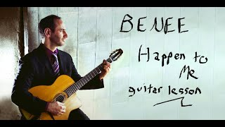 Download BENEE Happen To Me  guitar lesson, tutorial, how to play acoustic instrumental