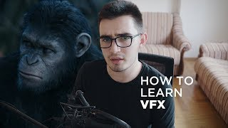 How to Learn Visual Effects!
