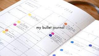 Bullet Journal 2018 Setup