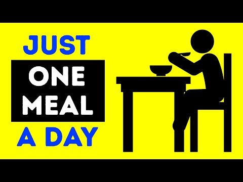 I Ate One Meal a Day For a Month, See What Happened to Me