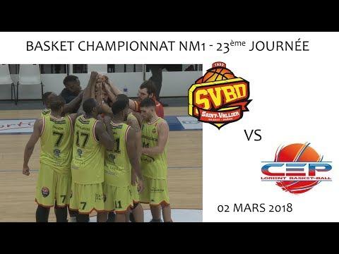2018 03 02 Rencontres sportives   Basket NM1 23ème journée   SVBD vs LORIENT