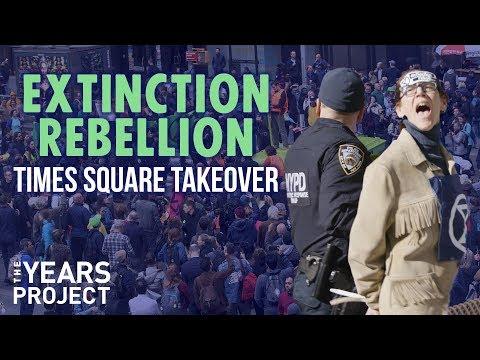 Extinction Rebellion: Times Square Takeover