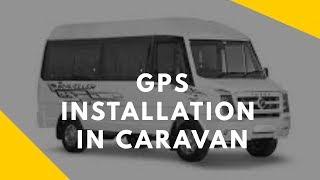GT06 installation in Traveller Caravan bus | Tegnotech