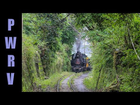Chinese Narrow Gauge - steam trains on the Rongshan Prison Railway