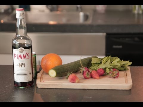 How to make Pimm's - British Summertime Drink