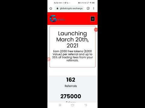 New Global Crypto Exchange , Free 1000 GCX Tokens