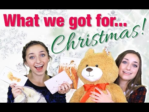 What We Got for Christmas 2015 | Brooklyn and Bailey