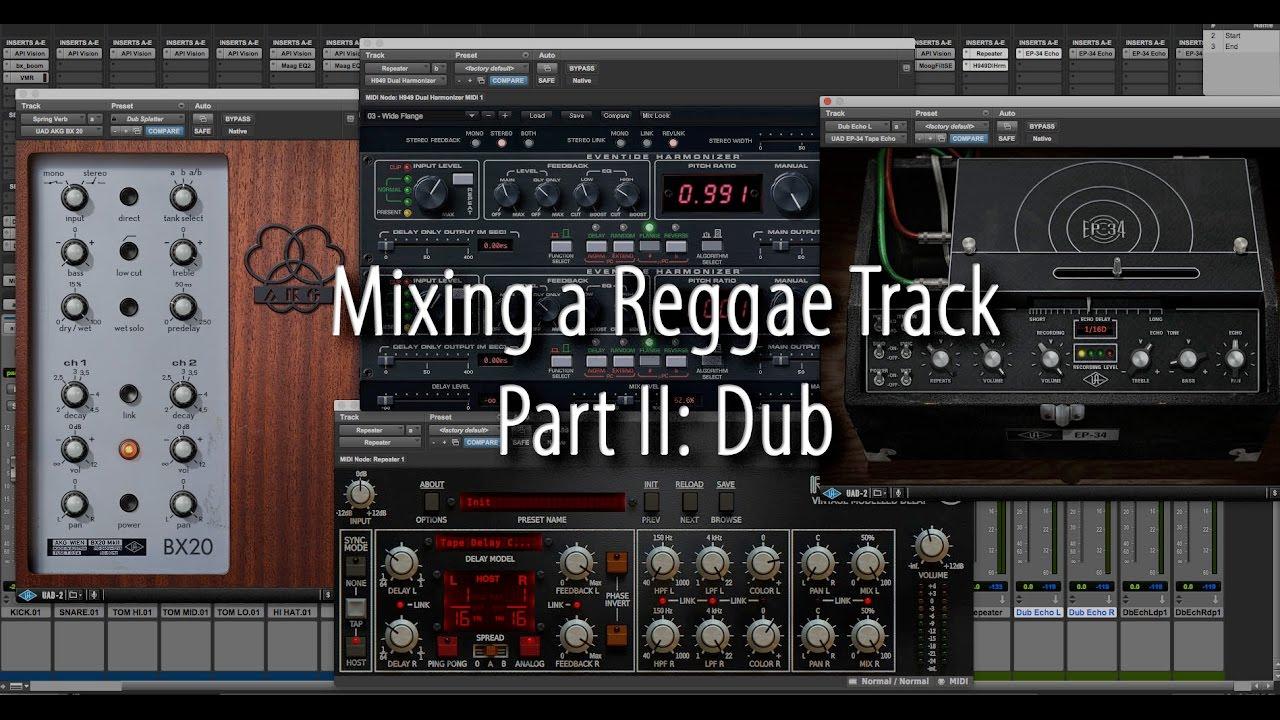 Greg Wurth – Mixing a Reggae Track Pt.2: Dub