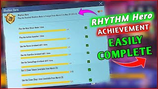 Easyway To Complete (RHYTHM HERO) Achievement   How To Complete (Rhythm Hero) Mission In Pubg Mobile screenshot 4