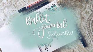 bullet journal septiembre y nueva libreta