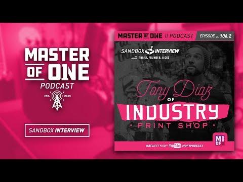 Sandbox Interview: Tony Diaz from Industry Print Shop