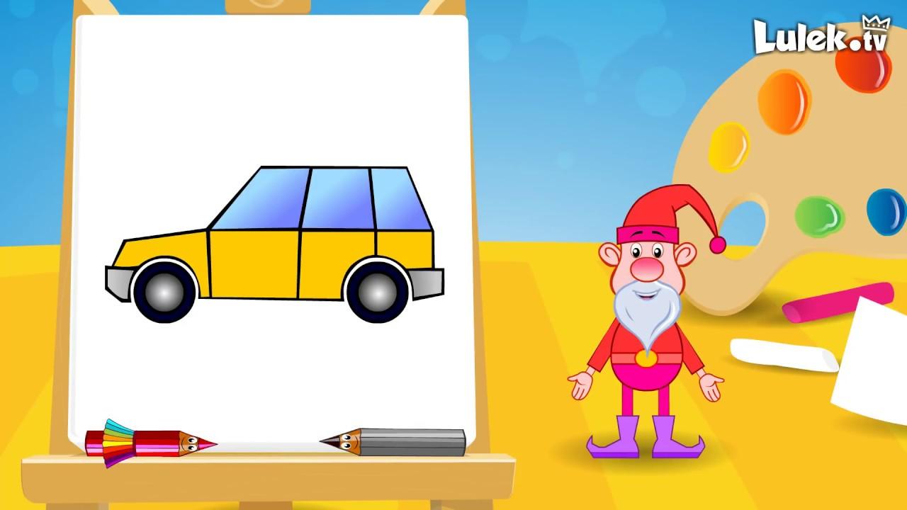 Jak Narysowac Auto Rysuj Z Tadziem Lulek Tv Youtube