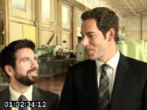 Chuck Season 4 Premiere - Zachary Levi and Joshua ...