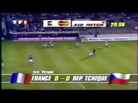 Mitico: 1994 França 2 x 2 República Checa (debut internacional de Zidane)